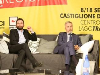 Festa regionale del Pd, Guerini e Richetti a Castiglione del Lago