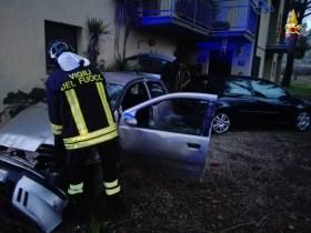 Incidente stradale a Bacanella di Magione, un ferito, forse colpo di sonno