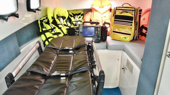 Attivata al Trasimeno imbarcazione sanitaria, con personale a bordo