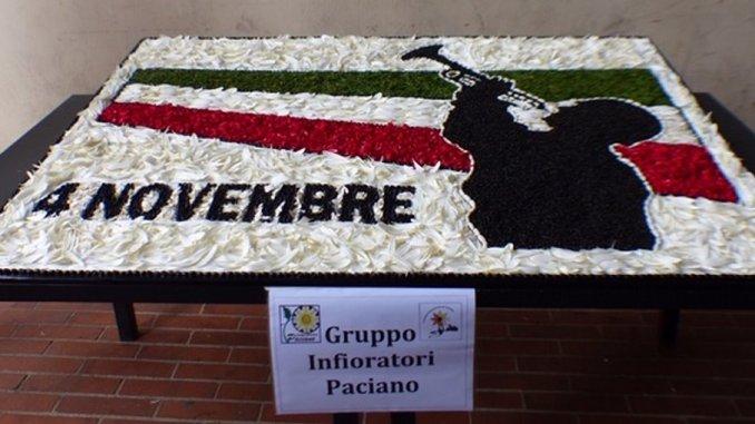 Paciano, 4 novembre, grande partecipazione di comunità