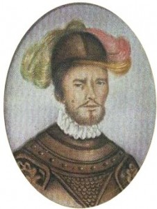 Pedro de Ursúa. Miniatura de Banrepública.