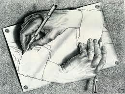 Obra de M.C. Escher.