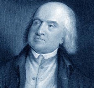 Jeremy Bentham Imagen tomada de: http://www.biografiasyvidas.com/biografia/b/fotos/bentham.jpg