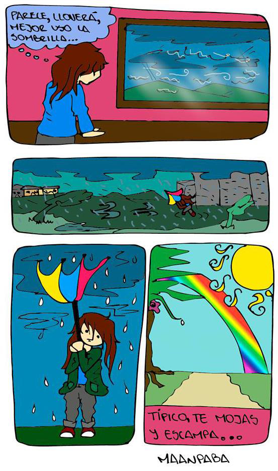 En paraguas