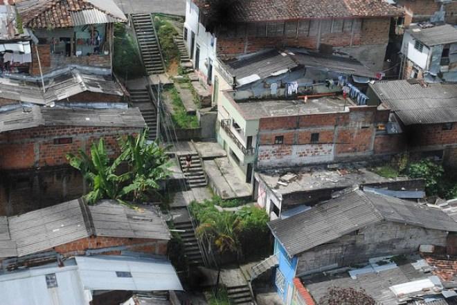 En los barrios de la comuna 11 de Dosquebradas, predomina la percepción de inseguridad. foto: María Laura Idárraga/Unimedios