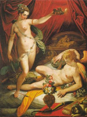 Jacopo Zucchi, Eros y Psique, 1588. https://es.wikipedia.org/wiki/Psique_%28mitolog%C3%ADa%29#/media/File:Jacopo_Zucchi_-_Amor_and_Psyche.jpg