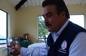 Foto: Sebastián Contreras Director de la Cooperativa Integral de Productores de Papa de Ventaquemada – Coimpaven