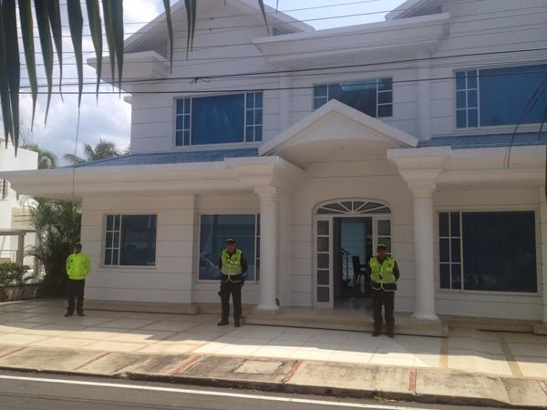 Casa sometida a extinción de dominio y perteneciente a capos del narcotráfico en los sectores más cosotoso de la ciudad de Pereira.