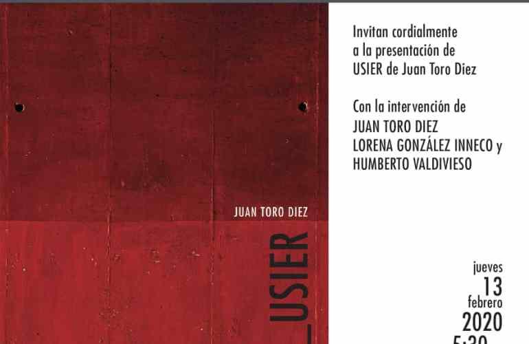 Presentación del libro de fotografía Usier de Juan Toro Diez