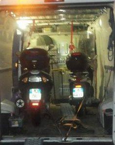 Soccorso moto, scooter, tre ruote, quad