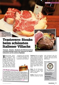 News über Steaks