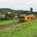 Pri skúškach na trati Velké Březno - Zubrnice, 11. 8. 2014, foto Stanislav Plachý