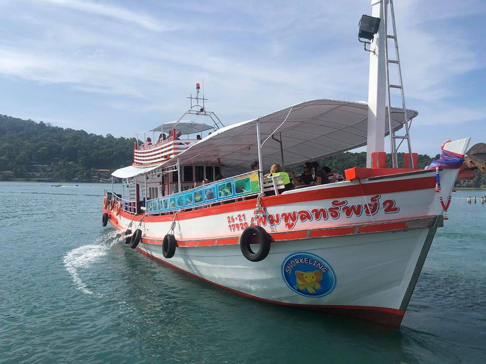 ดำน้ำ 5 เกาะด้วยเรือไม้ 700 บาท