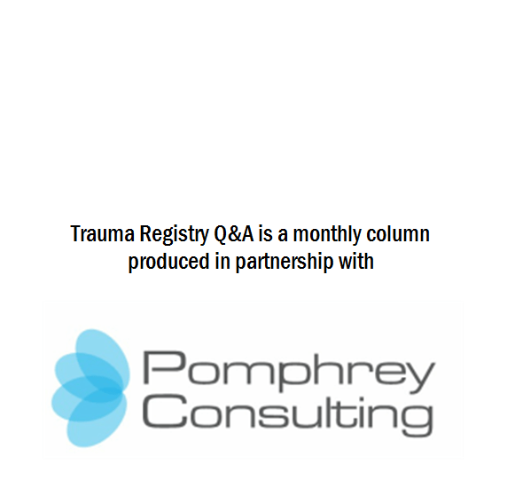 Trauma Registry Q&A is produced in partnership with Pomphrey Consulting