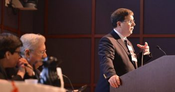 """Ronald Stewart, MD, FACS, at the """"Achieving Zero Preventable Deaths"""" Conference"""