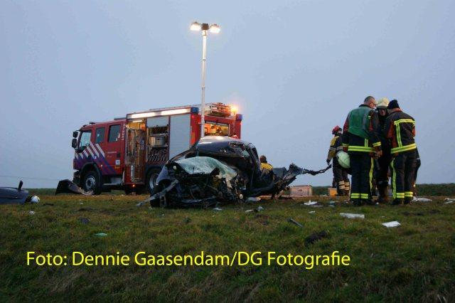 Ernstig ongeval N33 Muntendam