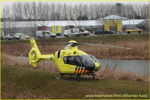 Lifeliner1 inzet Alkmaar Foto: Sander kaaij (1)