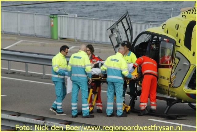 Lifeliner1 inzet Afsluitdijk Foto: Nick den Boer