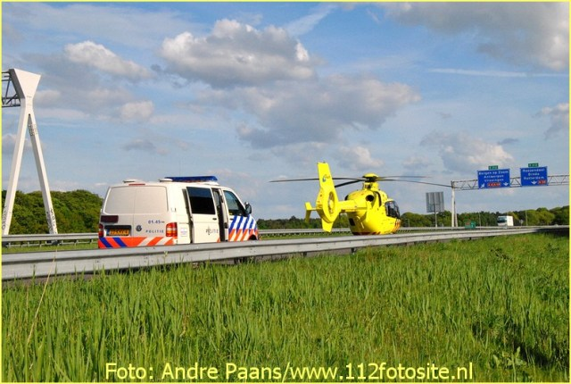 Lifeliner2 inzet Bergen op Zoom Foto: Andre Paans