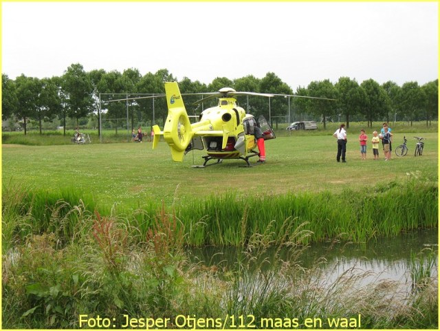 Lifeliner3 inzet Druten Foto: Jesper Otjens