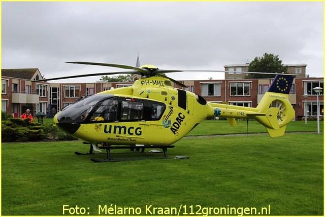 Lifeliner4 inzet Scheemda Foto: Mélarno Kraan