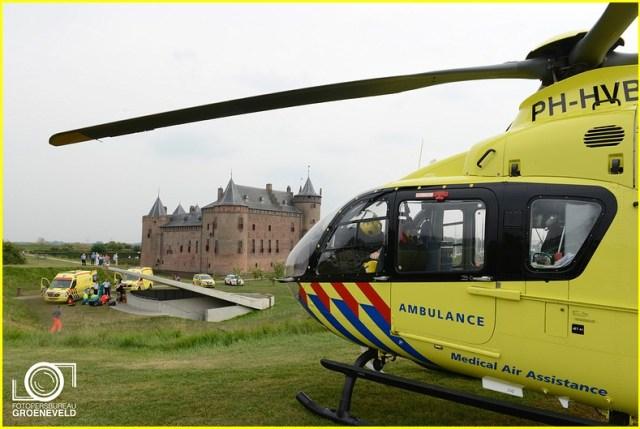 Lifeliner1 inzet Muiden Foto: Fotobureau Groeneveld