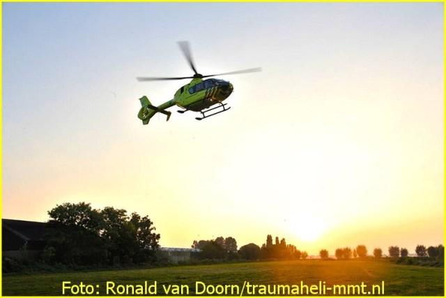 Lifeliner1 inzet Amstelveen Foto: Ronald van Doorn