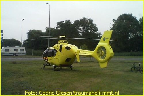 Lifeliner1 inzet Lelystad Foto: Cedric Giesen