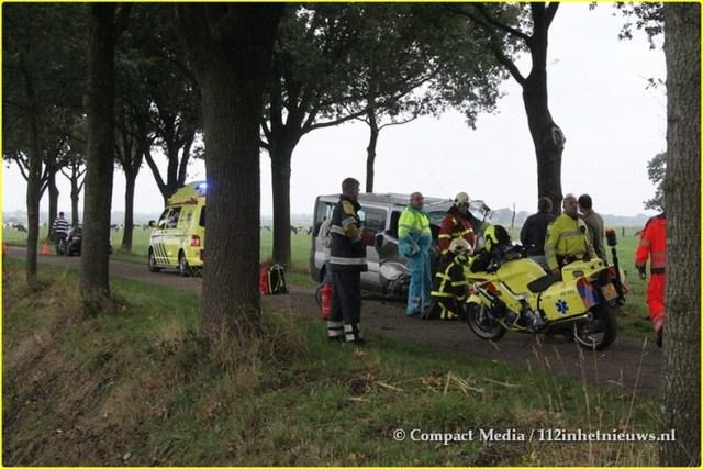 Eenzijdig verkeersongeval Blesdijke 2-BorderMaker