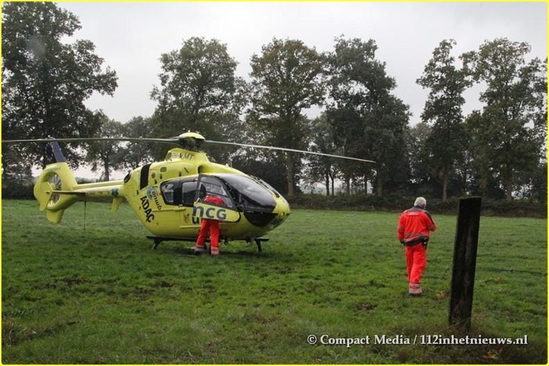Eenzijdig verkeersongeval Blesdijke 5-BorderMaker