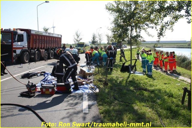 1 Oktober MMT inzet Zaandam Foto: Ron Swart
