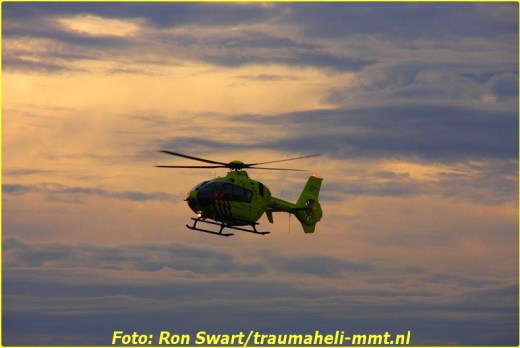 3 Oktober Lifeliner1 inzet Westzaan Foto: Ron Swart