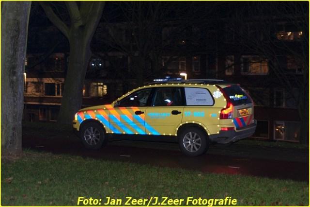 2013-12-07 Aanrijding met letsel Schiedamsedijk, Rotterdam 017-BorderMaker