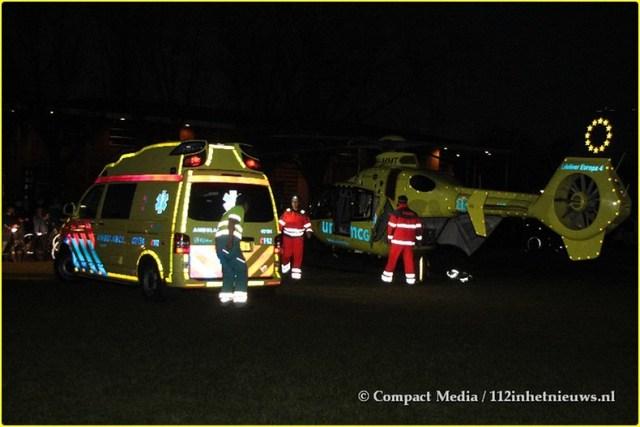 112 Slachtoffertje gaat met het MMT mee Oosterwolde 4-BorderMaker
