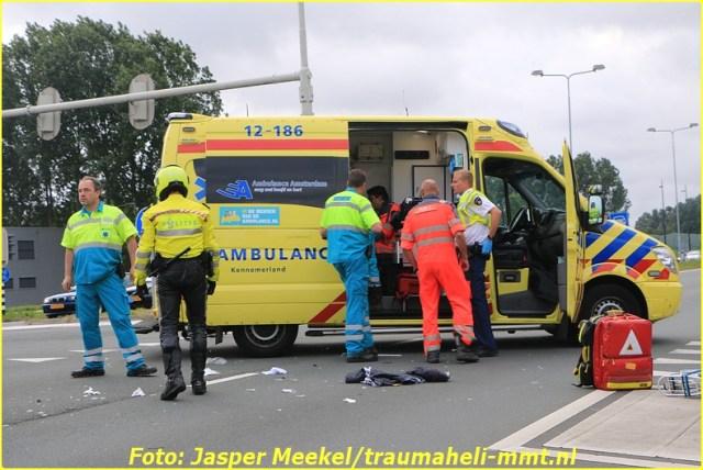 2014 0619 Traumaheli Inzet Ijweg te Hoofddorp 010 (6)-BorderMaker