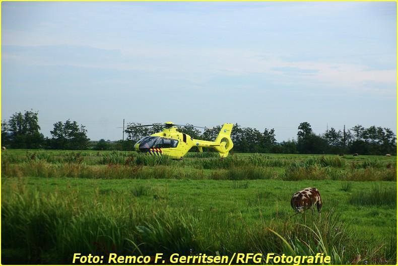 15-08-29 Prio 1 Verkeersongeval (Lifeliner) - Lecksdijk (Reeuwijk) (3)-BorderMaker