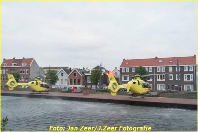 2015-10-19 Dubbele traumahelikopter inzet Schiedam 023-BorderMaker