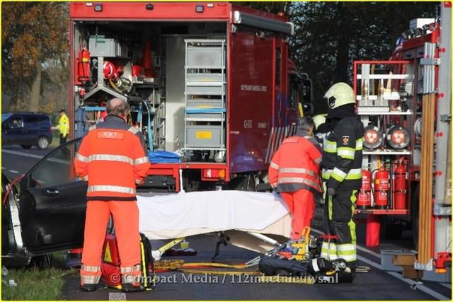 Dodelijk ongeval N381 Oosterwolde 17-BorderMaker