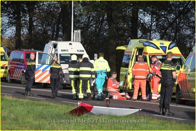 Dodelijk ongeval N381 Oosterwolde 23-BorderMaker
