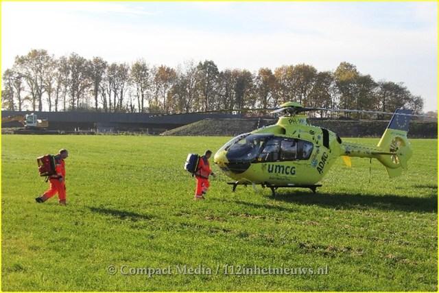 Dodelijk ongeval N381 Oosterwolde 28-BorderMaker