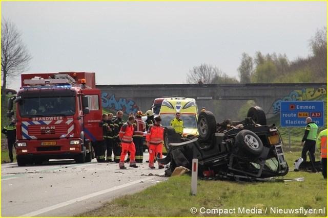 Ongeval N34 Odoorn 020 Nieuwsflyer-BorderMaker