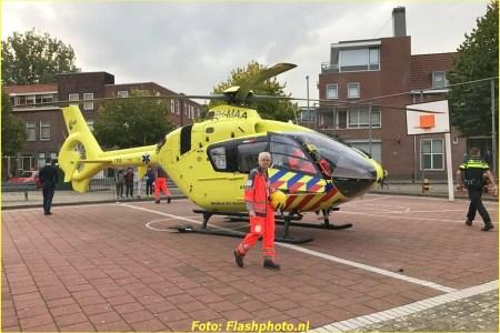 20 September Lifeliner2 Schiedam Van Leeuwenhoeckstraat
