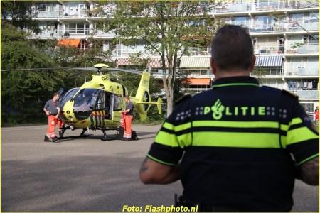 16 September Lifeliner2 Vlaardingen Aalscholverlaan