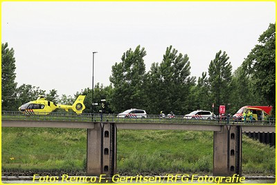 19-06-03 Prio 1 Ongeval - Prinses Beatrixsluis (Nieuwegein) - MMT (1)-BorderMaker