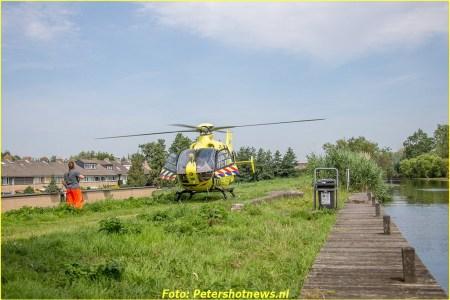 Lifeliner landt in Vinkeveen voor medische...