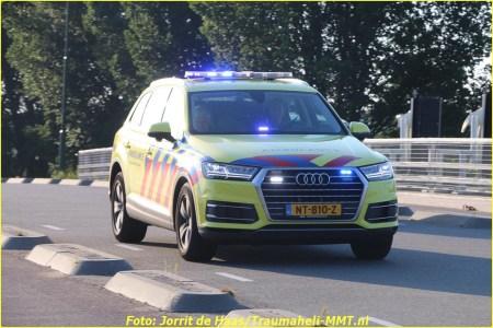 Gewonde bij ongeval met scootmobiel in Hardinxveld-Giessendam
