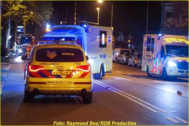 Ongeval Paterswoldseweg - Foto ID-6356546-BorderMaker
