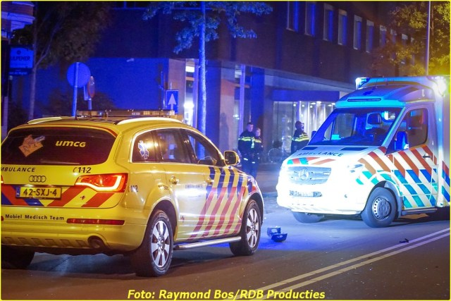 Ongeval Paterswoldseweg - Foto ID-6356551-BorderMaker