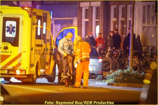Ongeval Paterswoldseweg - Foto ID-6356556-BorderMaker