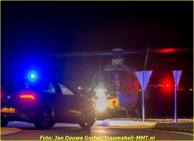 2020-11-20 Ongeval Motoer lemmerweg Afslag Ijlst 12-BorderMaker
